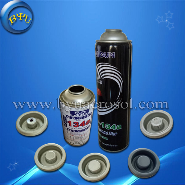 Empty aerosol R134a refrigerant gas cans for sale
