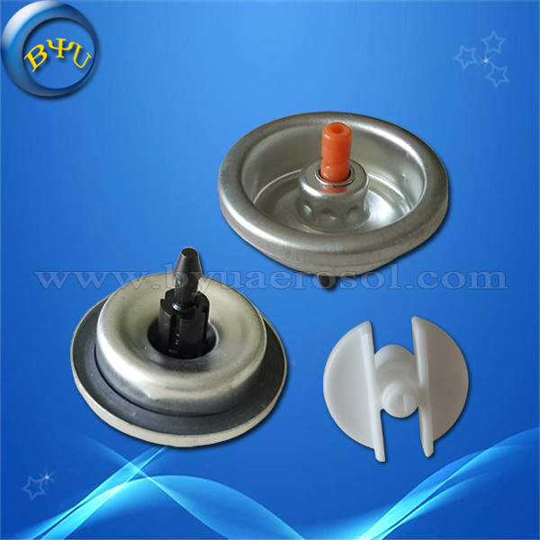 aerosol paint spray valve for traffic line road paint marking